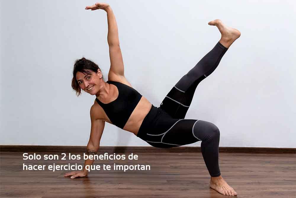 Los 2 beneficios del ejercicio que más importan