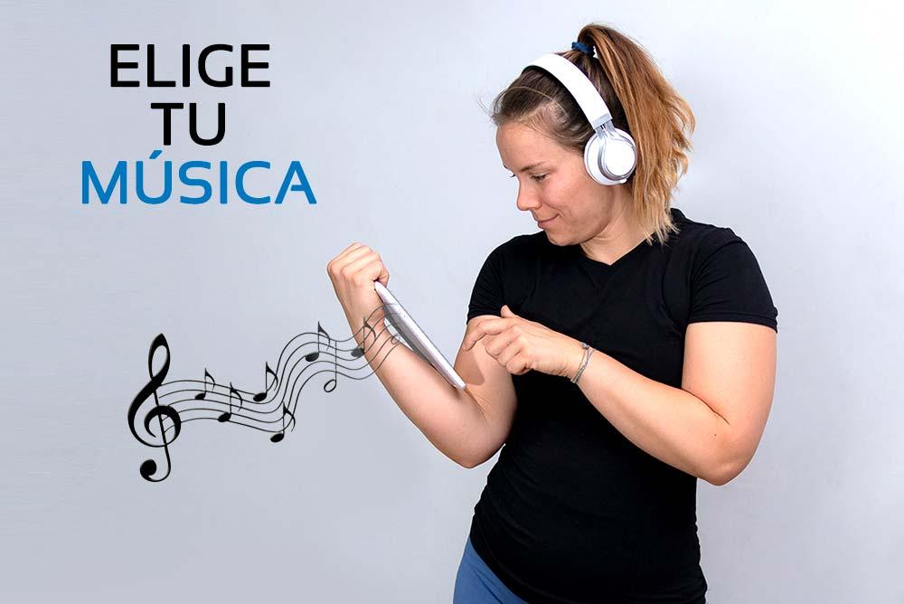 Mi entreno... ¡Mi música!
